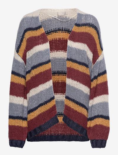 B. Copenhagen Cardigan-knit Light - gilets - flint stone