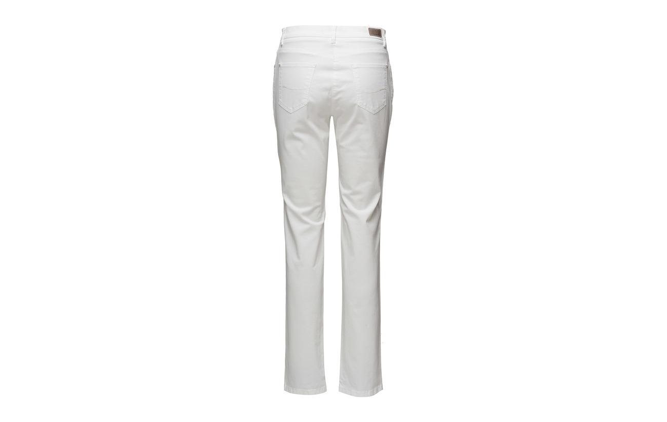 Elastane Coton White Brax Mary 3 97 qA88Xw
