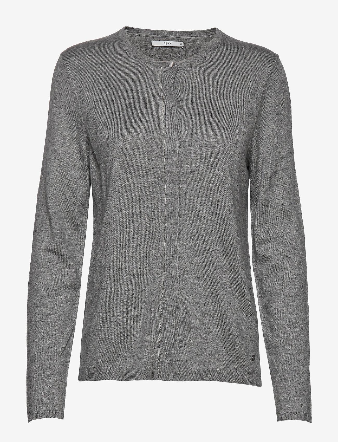 BRAX - ANN - cardigans - grey mel. - 0
