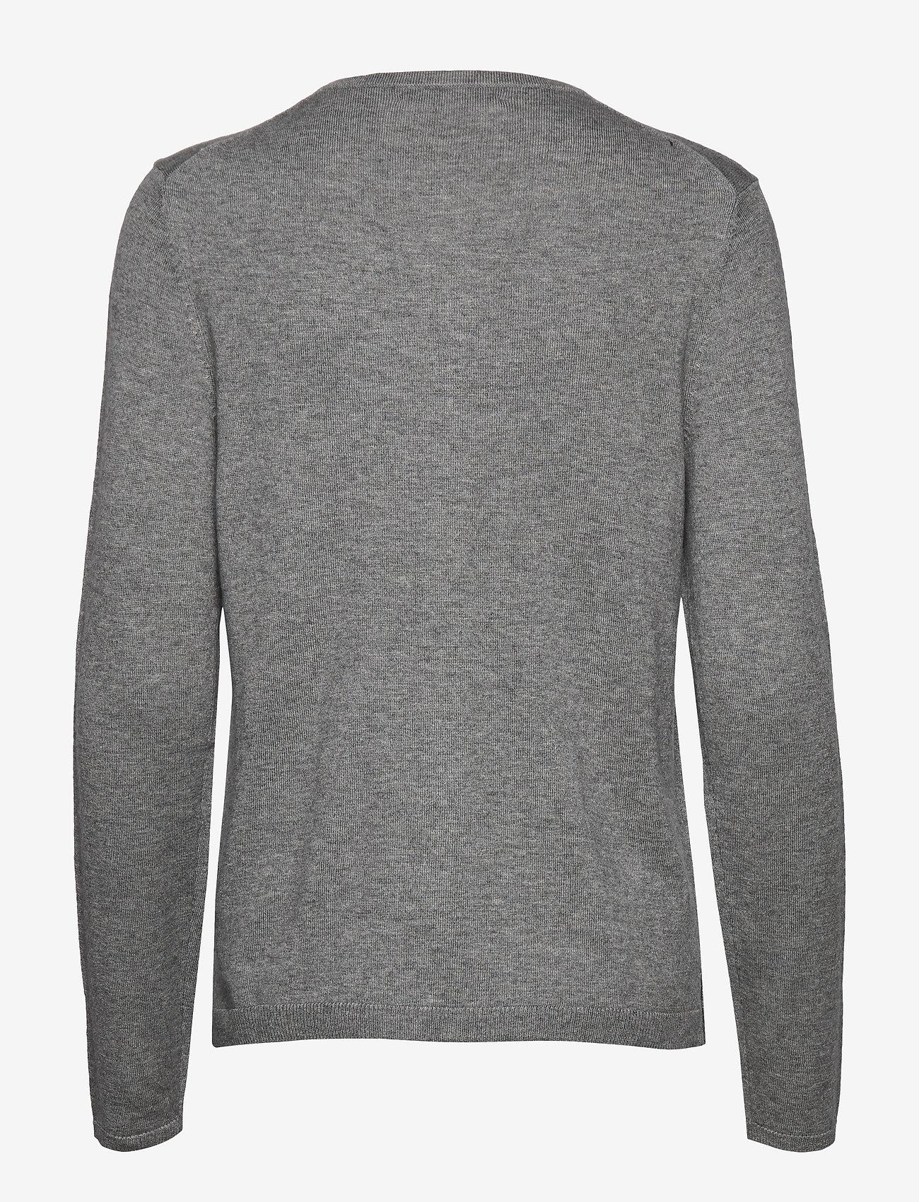 BRAX - ANN - cardigans - grey mel. - 1
