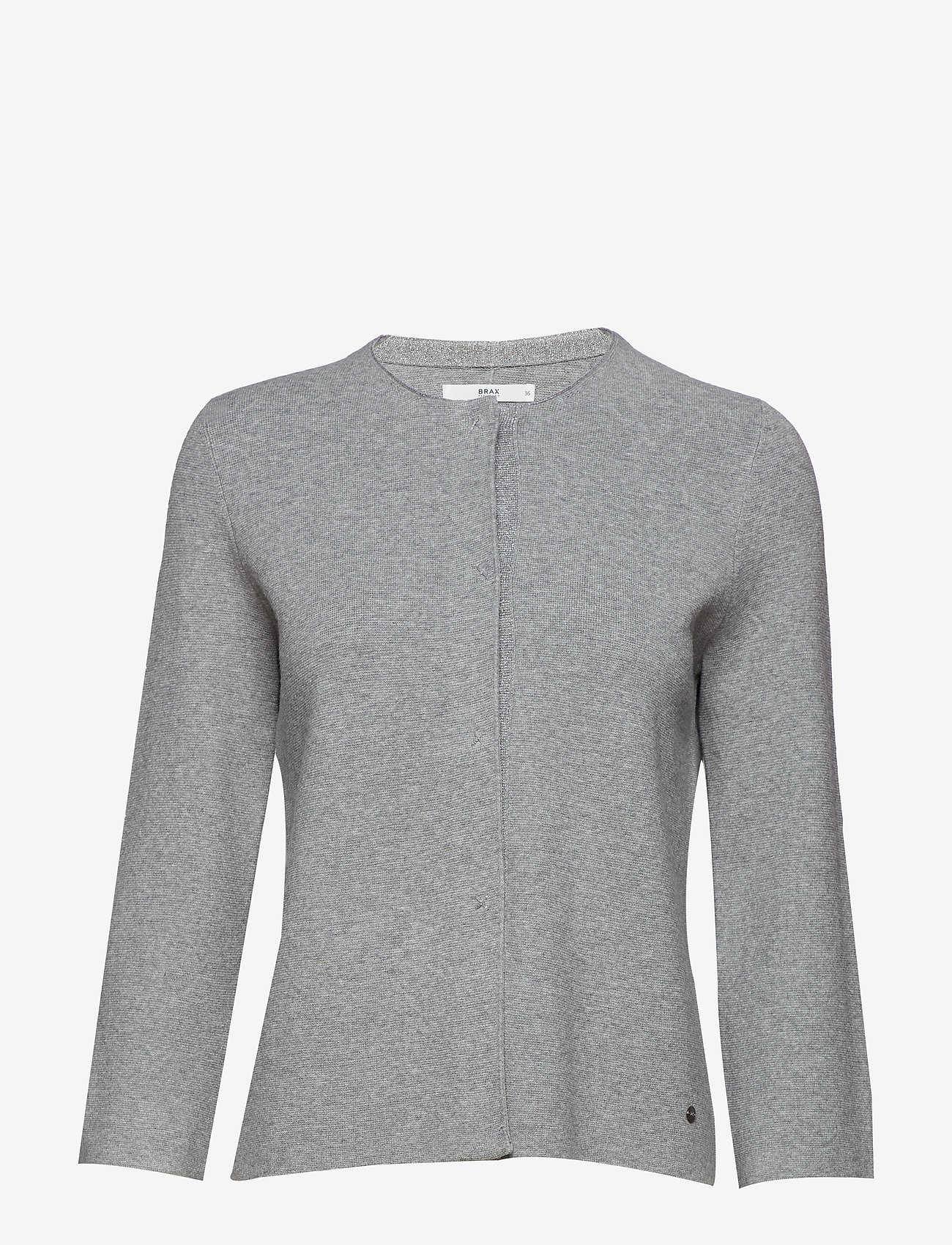BRAX - ANN - cardigans - light grey mel. - 0