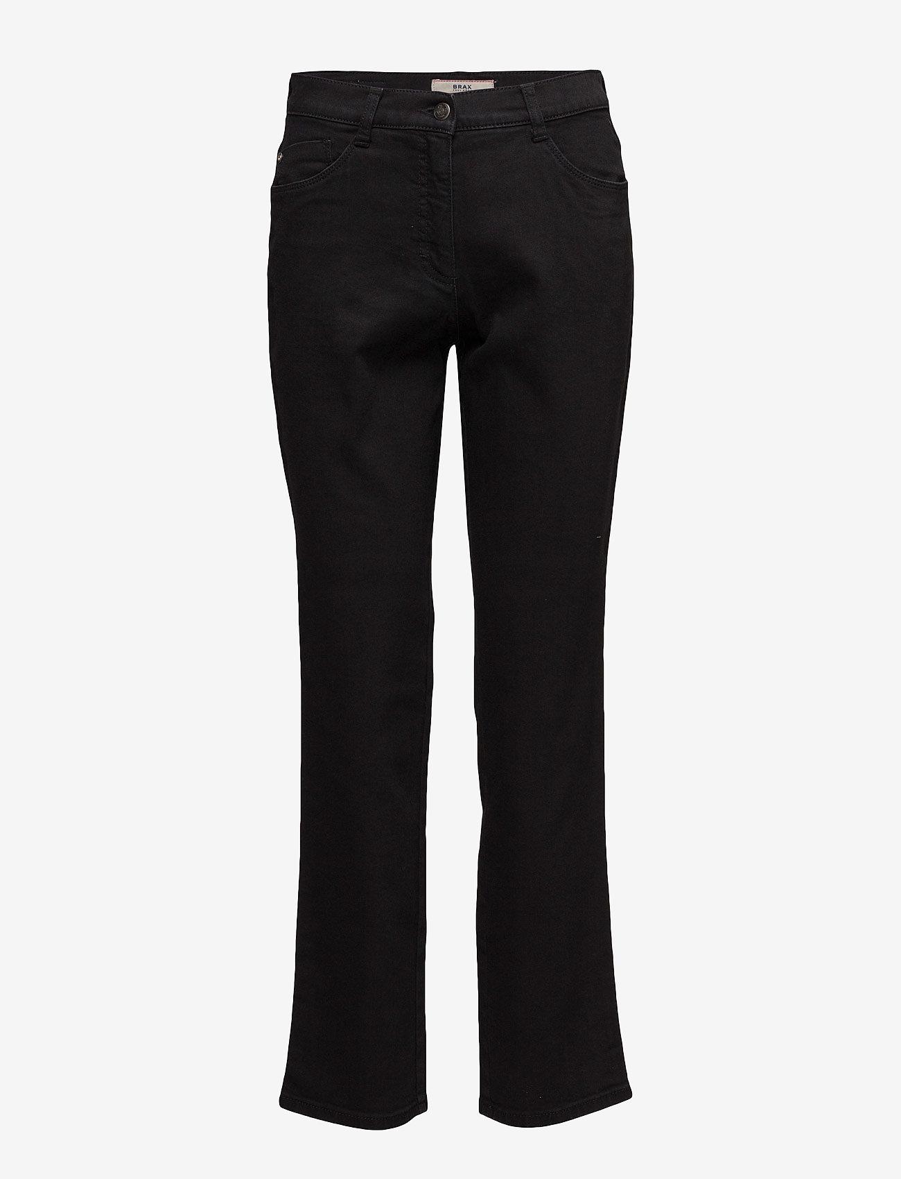 BRAX - CAROLA - straight jeans - clean black black - 0