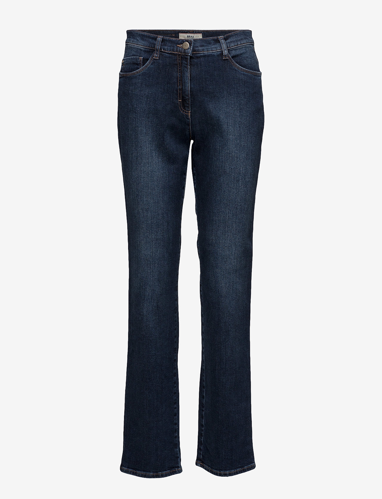 BRAX - CAROLA - straight jeans - used regular blue - 0