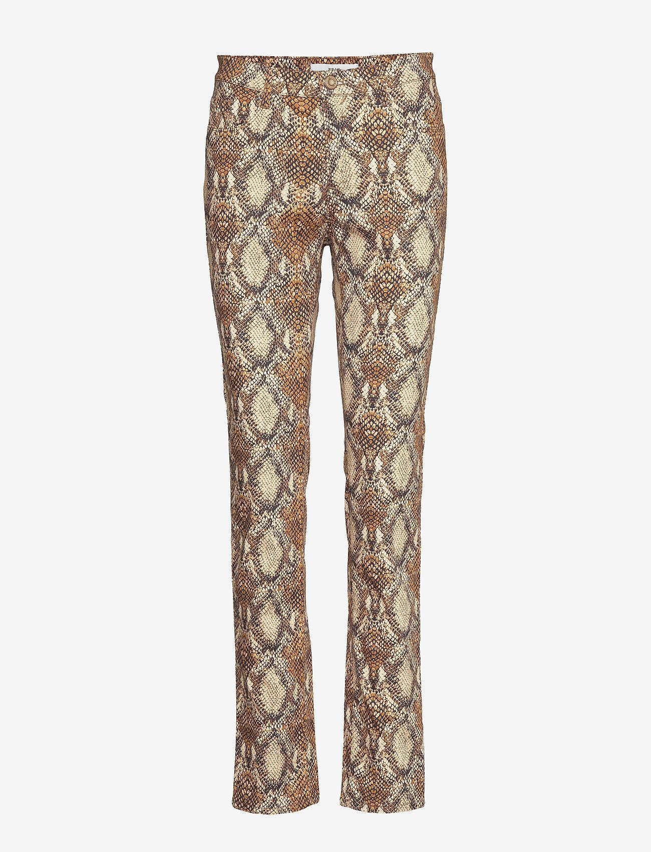 BRAX - MARY - slim fit trousers - cognac - 0