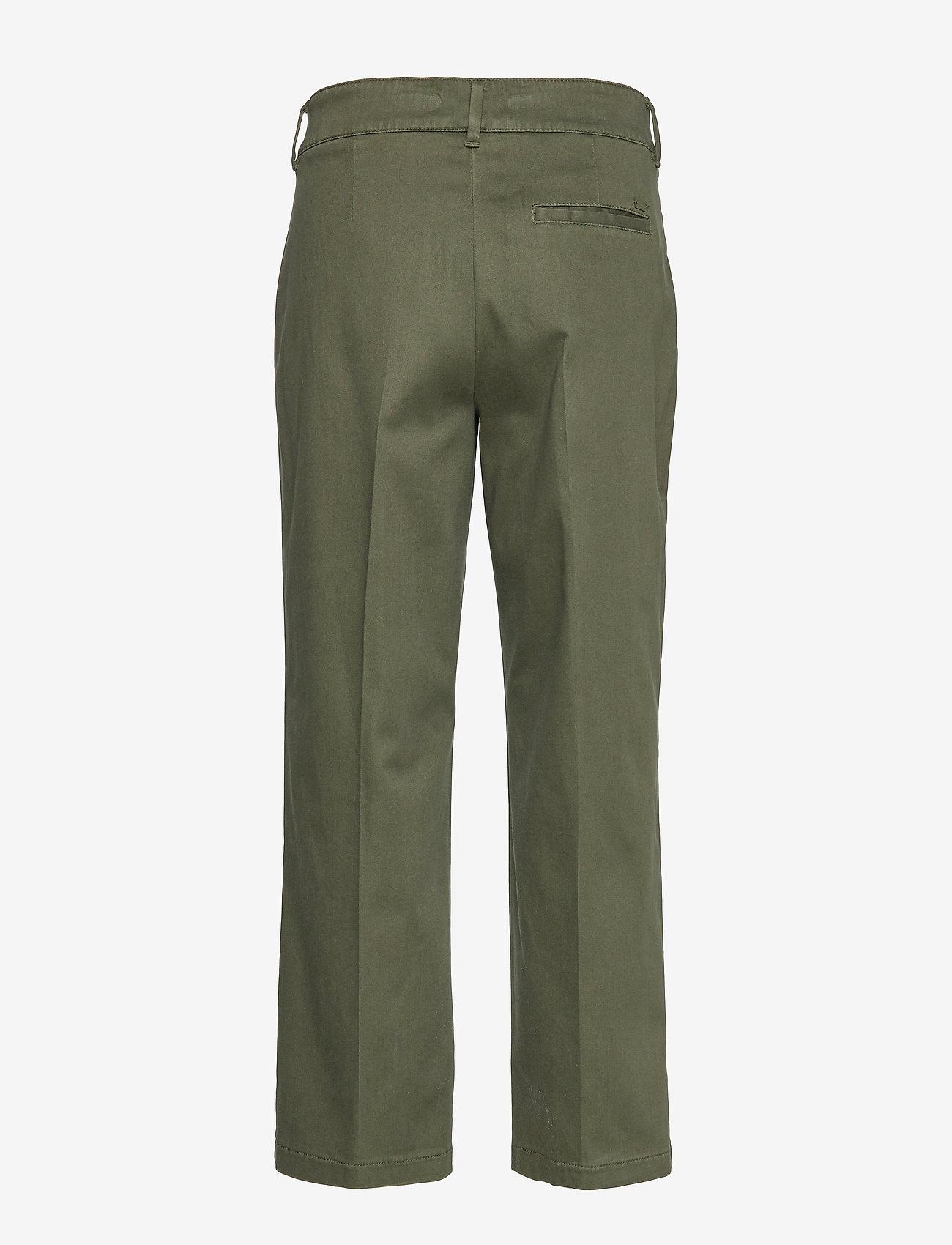BRAX - MAINE S - wide leg trousers - khaki - 1