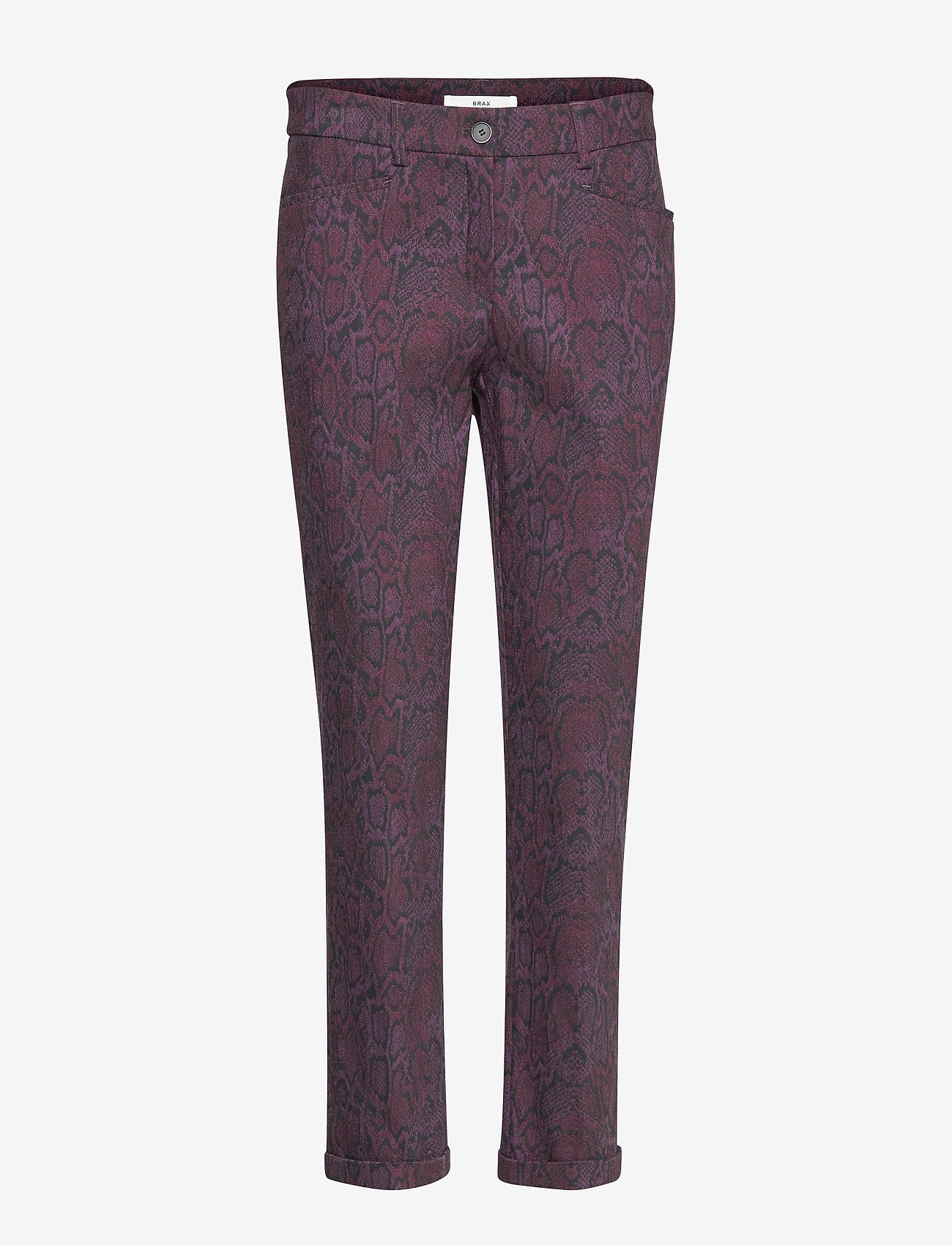 BRAX - MARON - slim fit trousers - cranberry - 0