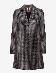 BRAX - DAVOS - wool coats - black/white - 0