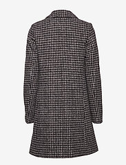 BRAX - DAVOS - wool coats - black/white - 1