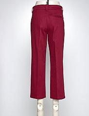 BRAX - MAINE S - wide leg trousers - cranberry - 3