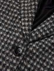 BRAX - DAVOS - wool coats - black/white - 2