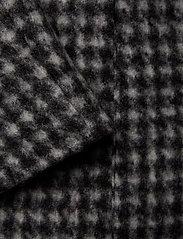 BRAX - DAVOS - wool coats - black/white - 3