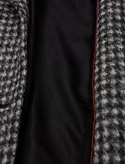 BRAX - DAVOS - manteaux de laine - black/white - 4