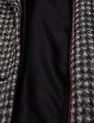 BRAX - DAVOS - wool coats - black/white - 4