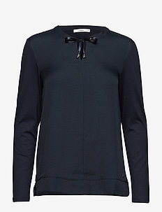 CLARISSA - long-sleeved tops - navy