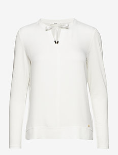 CLARISSA - long-sleeved tops - offwhite