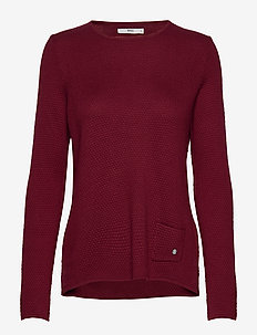LISA - jumpers - cranberry