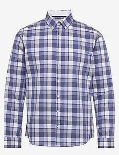 DANIEL - checkered shirts - bleu