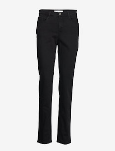 MARY - slim jeans - clean black black
