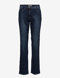 CAROLA - straight jeans - used regular blue