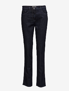 MARY - straight jeans - clean raw blue
