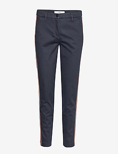 MABEL - slim fit trousers - navy