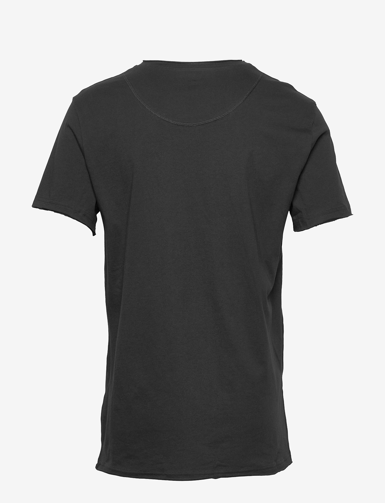 Bread & Boxers - Crew-Neck Relaxed T-shirt - basic t-shirts - black - 1