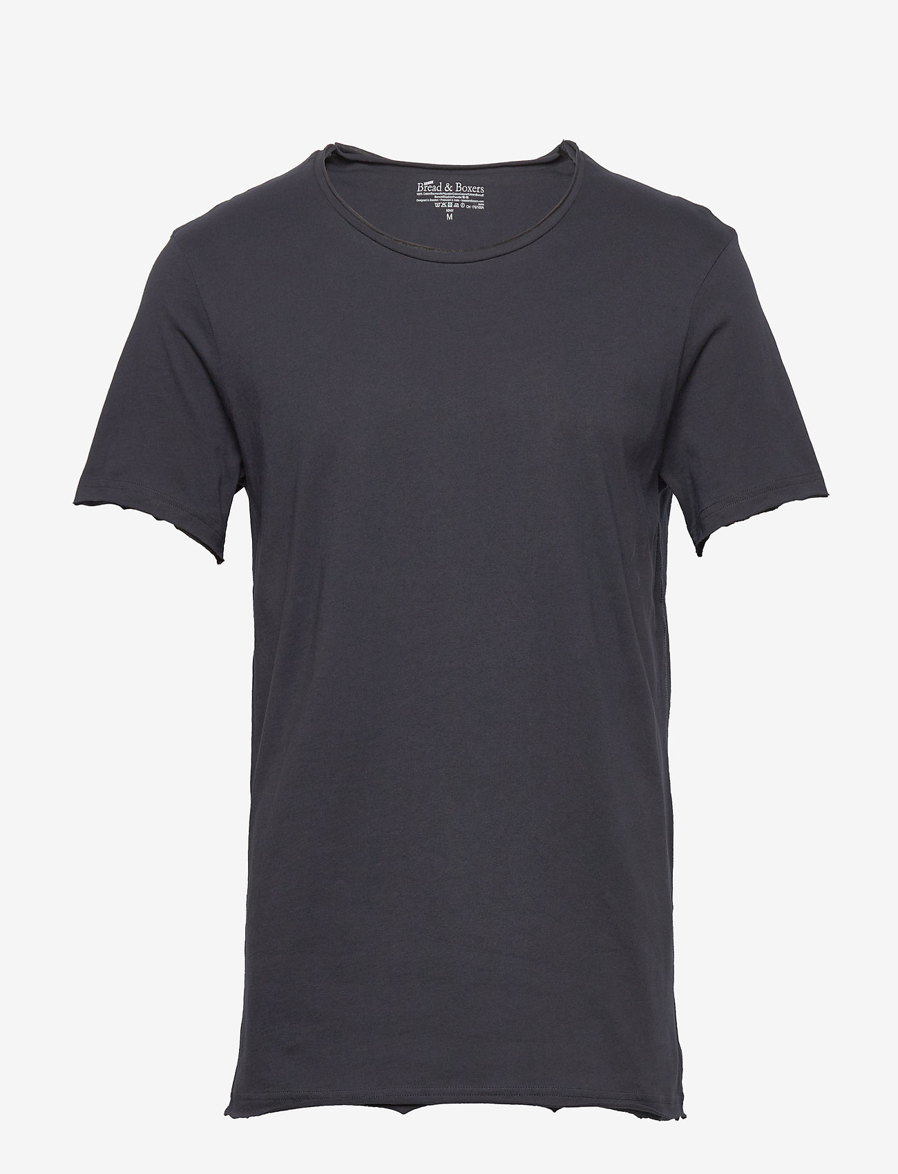 Bread & Boxers - Crew-Neck Relaxed T-shirt - basic t-shirts - dark navy - 0