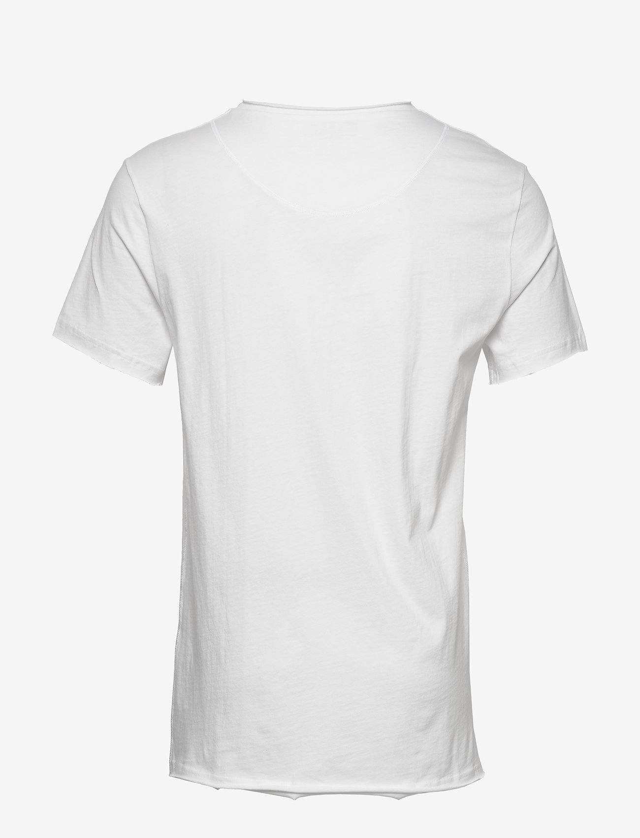 Bread & Boxers - Crew-Neck Relaxed T-shirt - basic t-shirts - white - 1