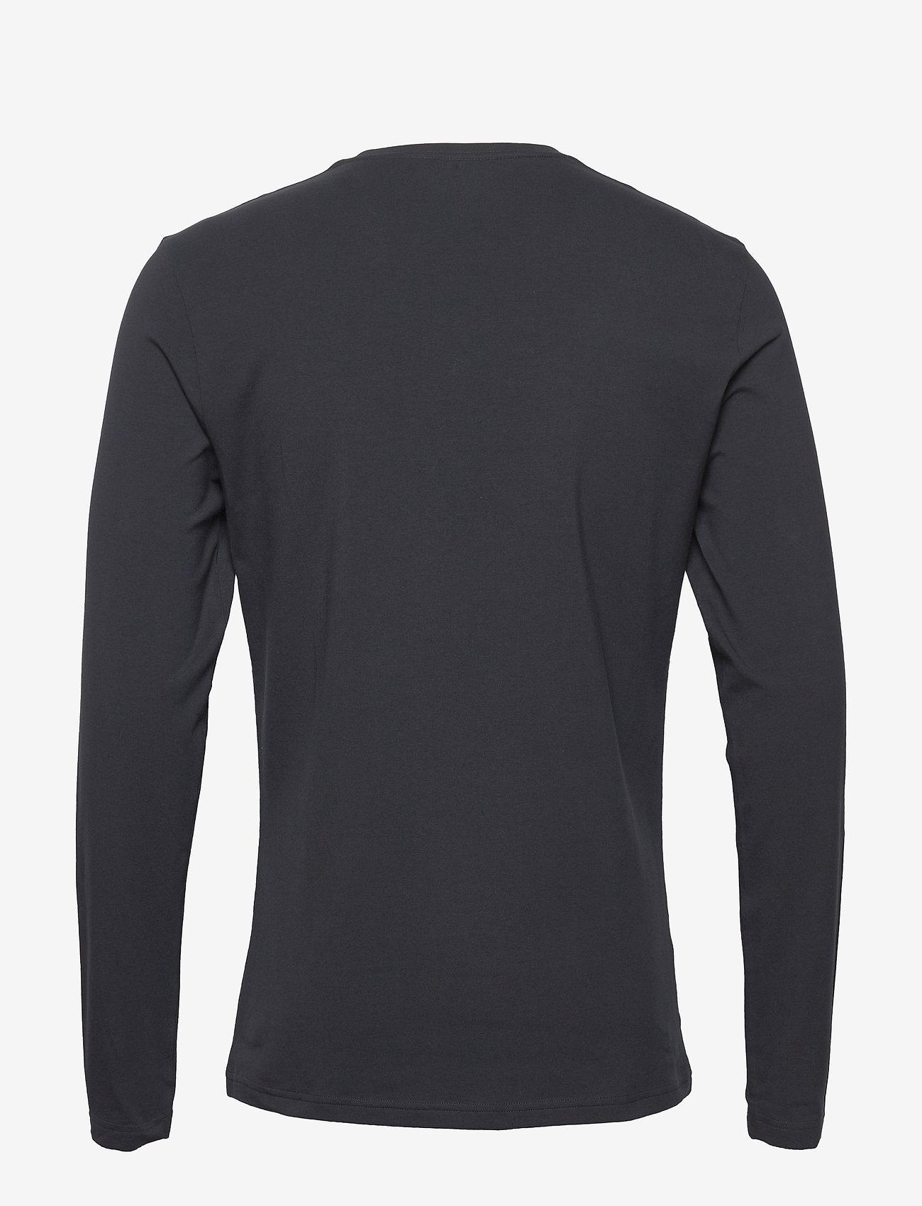 Bread & Boxers - Long sleeve - basic t-shirts - dark navy - 1