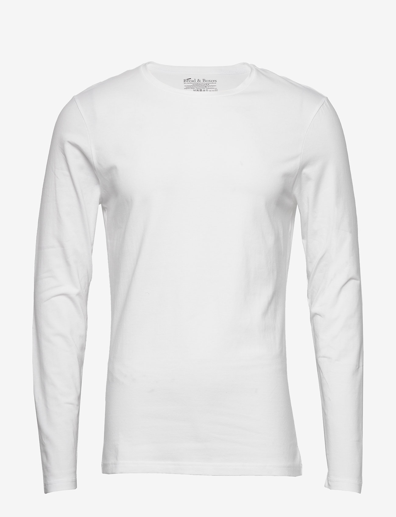Bread & Boxers - Long sleeve - basic t-shirts - white - 0