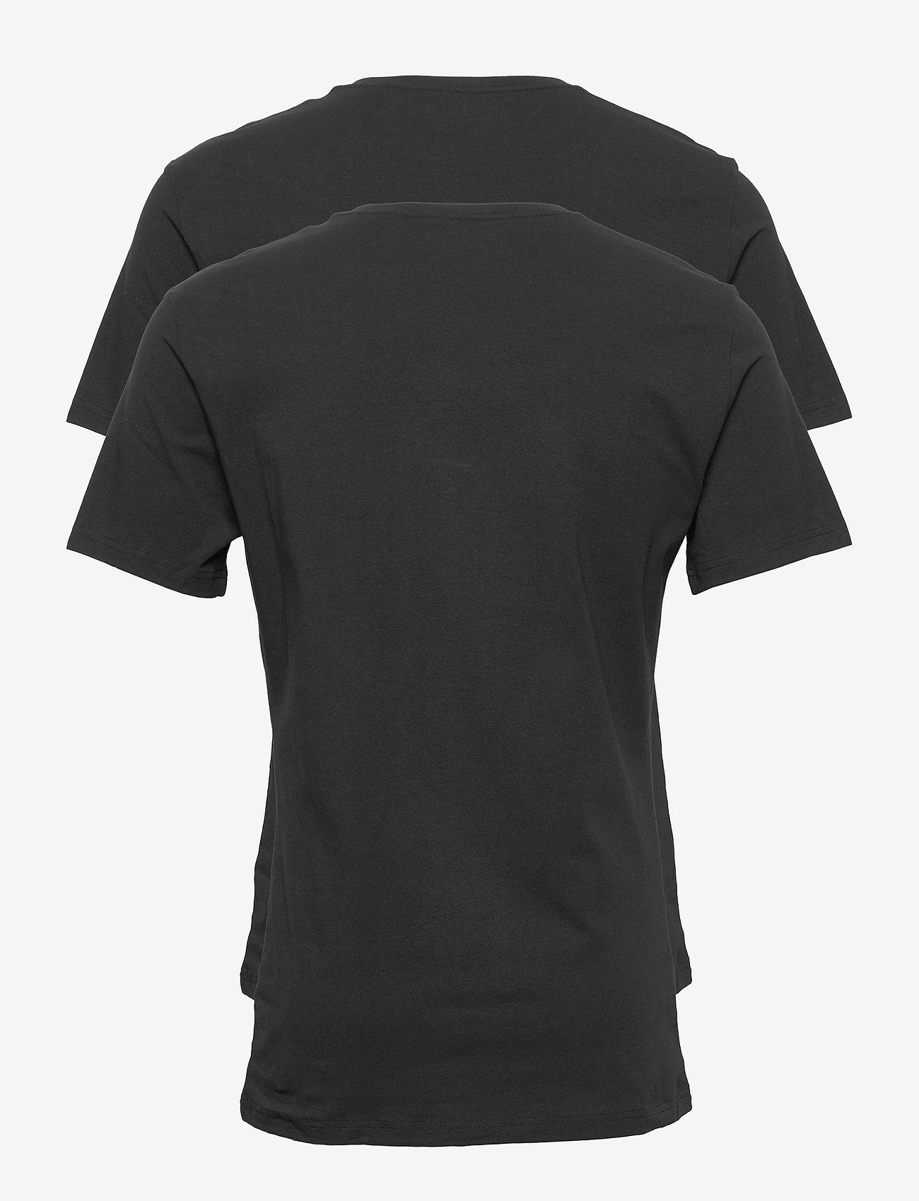 Bread & Boxers 2-Pack Crew Neck - T-skjorter BLACK - Menn Klær