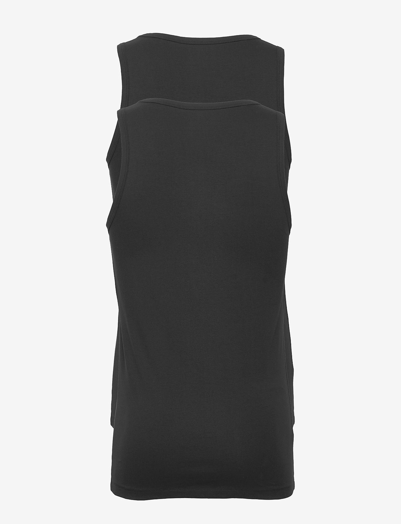 Bread & Boxers 2-Pack Tank - T-skjorter BLACK - Menn Klær