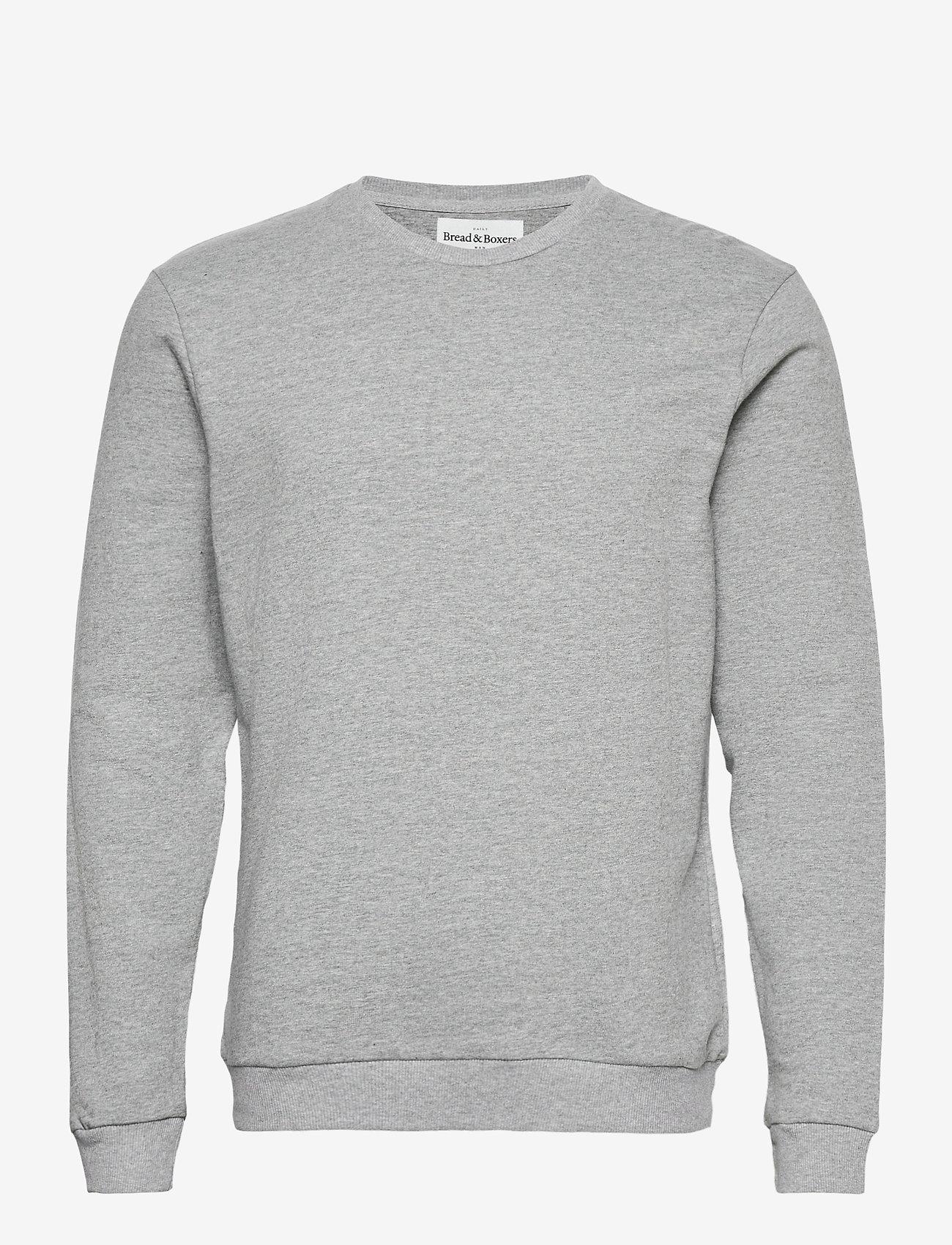 Bread & Boxers - Sweatshirt - truien - grey melange - 0