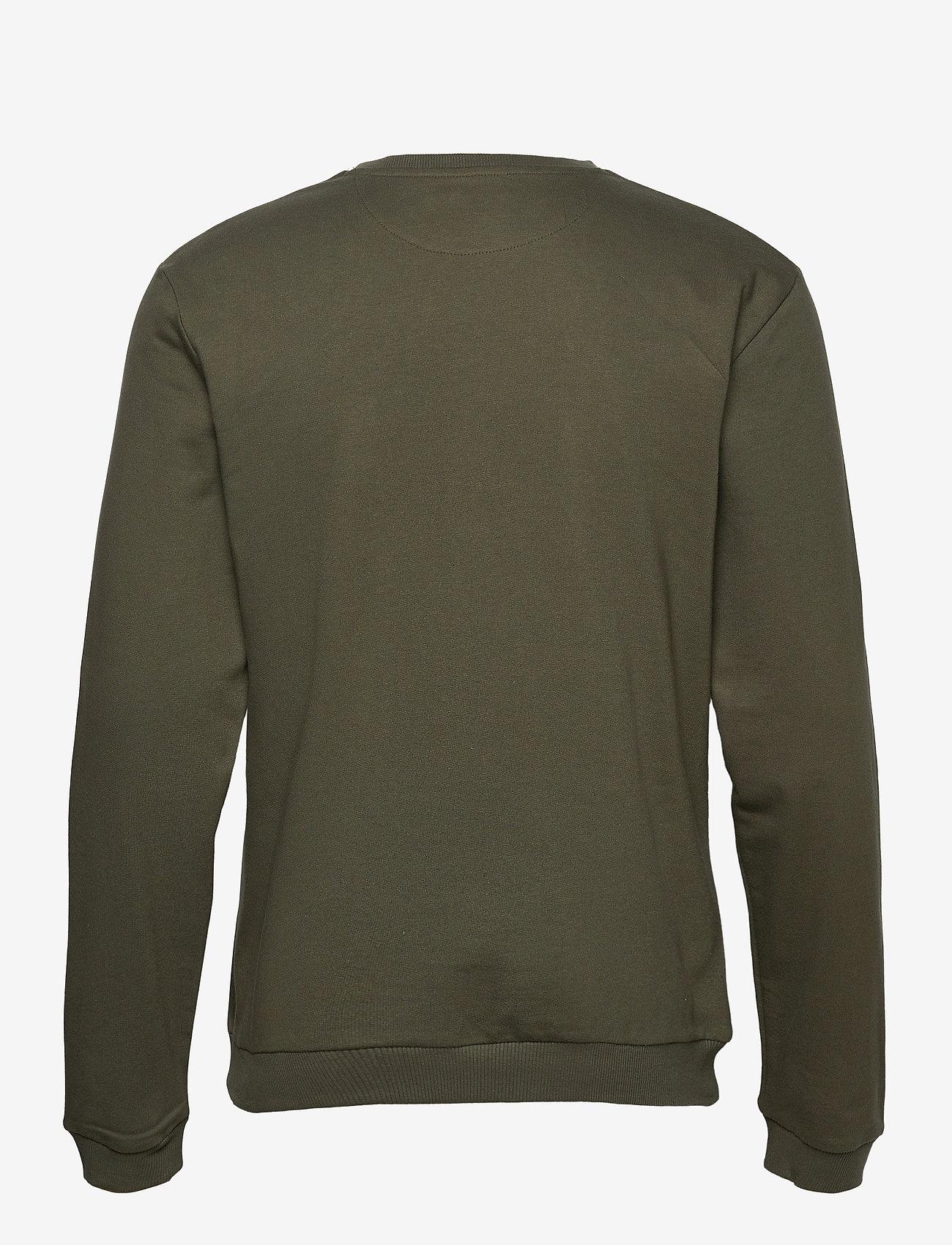 Bread & Boxers - Sweatshirt - truien - olive green - 1