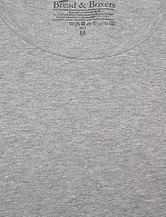 Bread & Boxers - Long sleeve - basic t-shirts - grey melange - 2