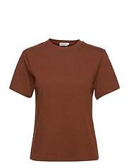 T-shirt Classic - RUST BROWN