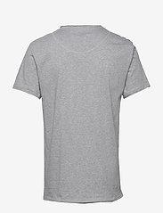 Bread & Boxers - Crew-Neck Relaxed T-shirt - basic t-shirts - grey melange - 1