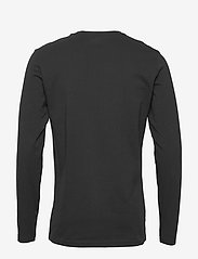 Bread & Boxers - Long sleeve - basic t-shirts - black - 1