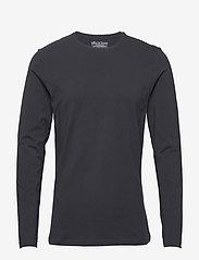 Bread & Boxers - Long sleeve - basic t-shirts - dark navy - 0