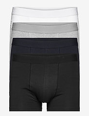 Bread & Boxers - Boxer Brief Multipack - boxers - white/back/grey/navy - 0