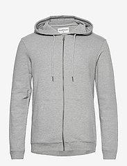 Bread & Boxers - Hoodie - hoodies - grey melange - 0