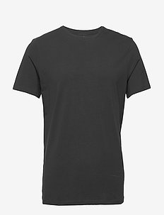 Crew-Neck T-shirt - basic t-shirts - black