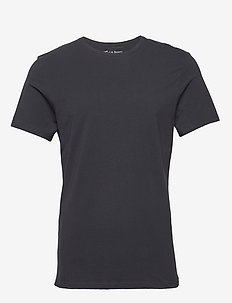 Crew-Neck T-shirt - basic t-shirts - dark navy