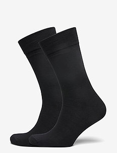 Socks 2-pack - black