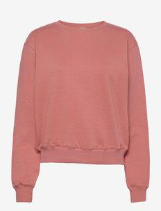 Sweatshirt - dressipluusid ja kapuutsiga dressipluusid - dark peach