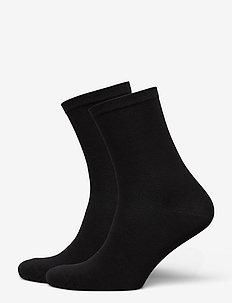 Socks 2-pack - sokker - black