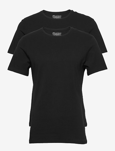 2-Pack Crew Neck - t-shirts basiques - black