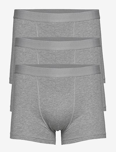 3-Pack Boxer Brief - boxers - grey melange