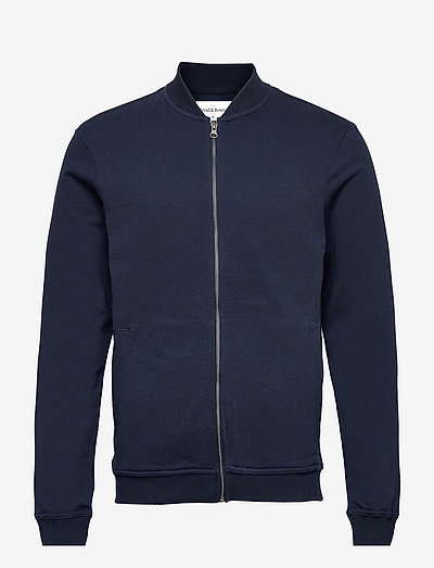 Jersey Jacket - sweats - navy blue