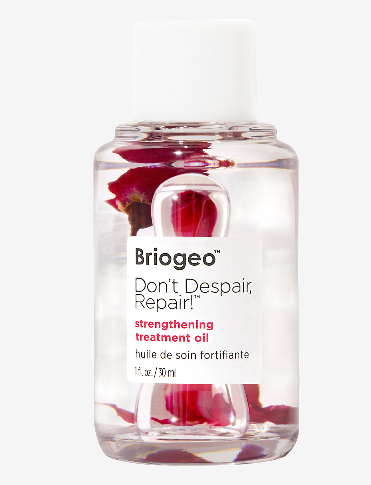 Briogeo - Don't Despair, Repair!™ Strengthening Treatment Oil 30ml - håroljor - clear - 0